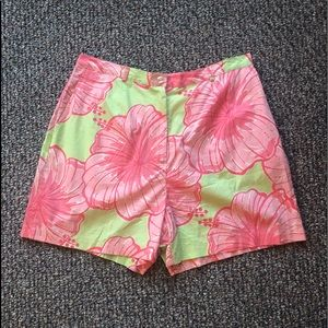 Lilly Pulitzer Vintage Print Shorts